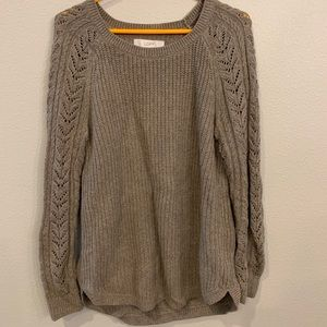 Loft crochet sweater, size Medium